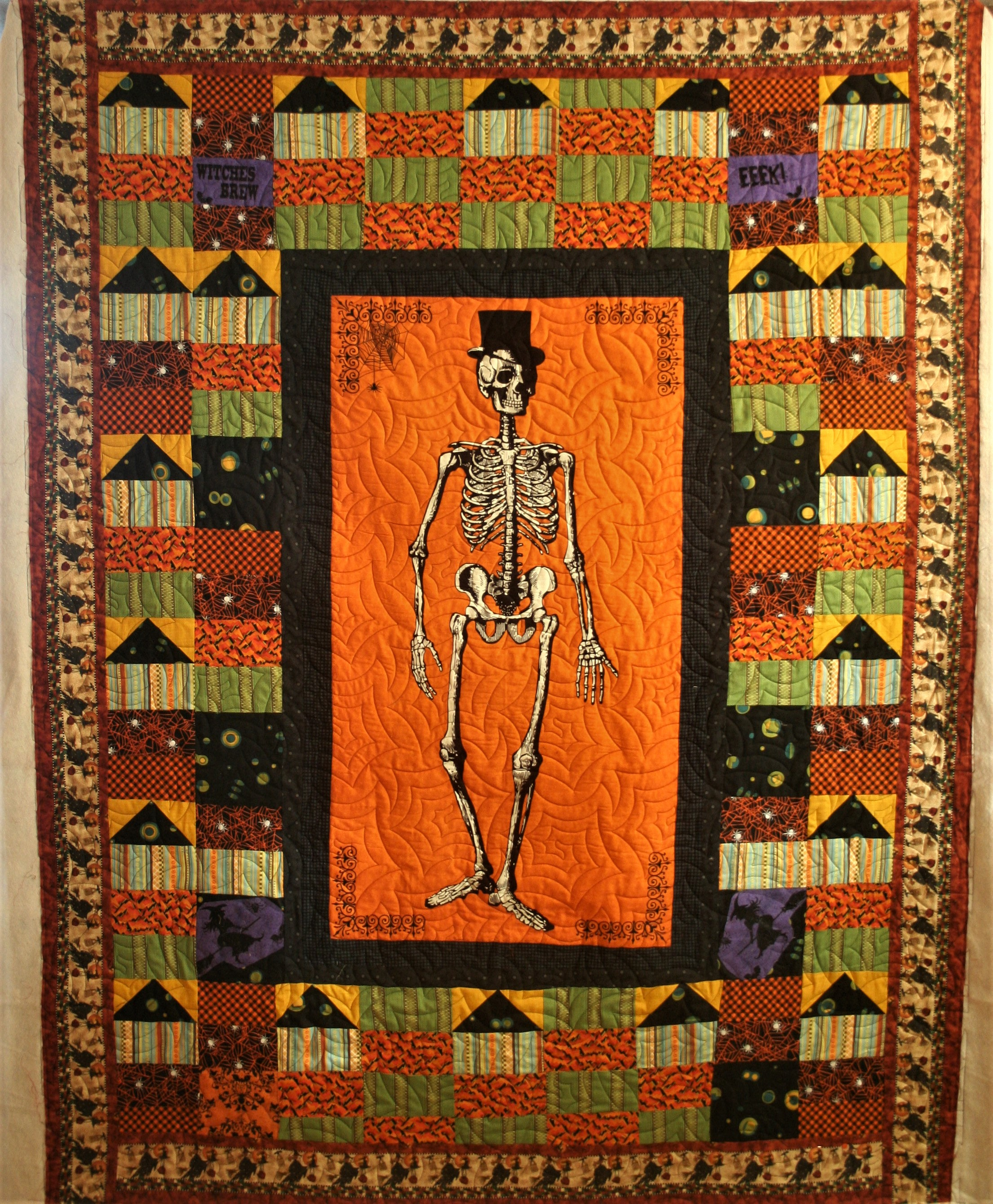 Halloween Skeleton (front)