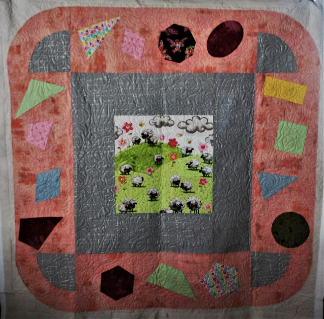 Learning Quilt #3 (front)