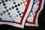 Navy Quilt Binding