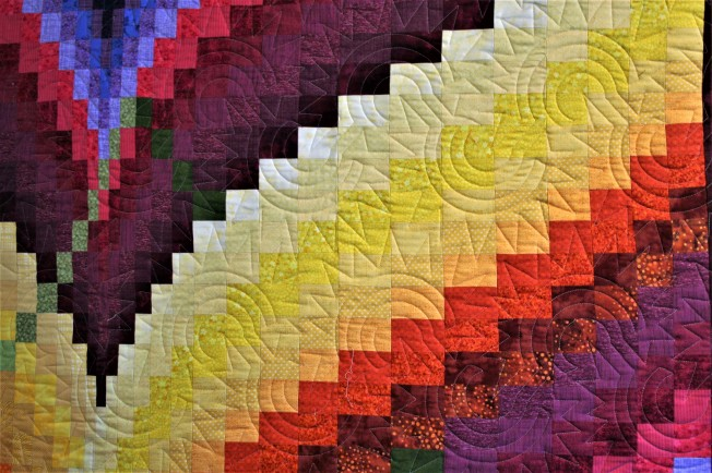Bargello and Grunge (close up)