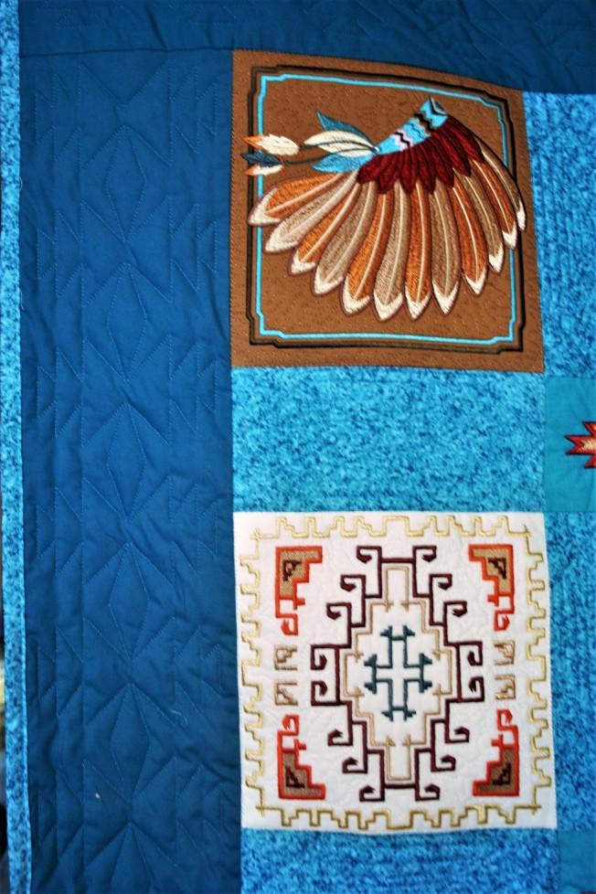 Navajo Quilt (close up 1)