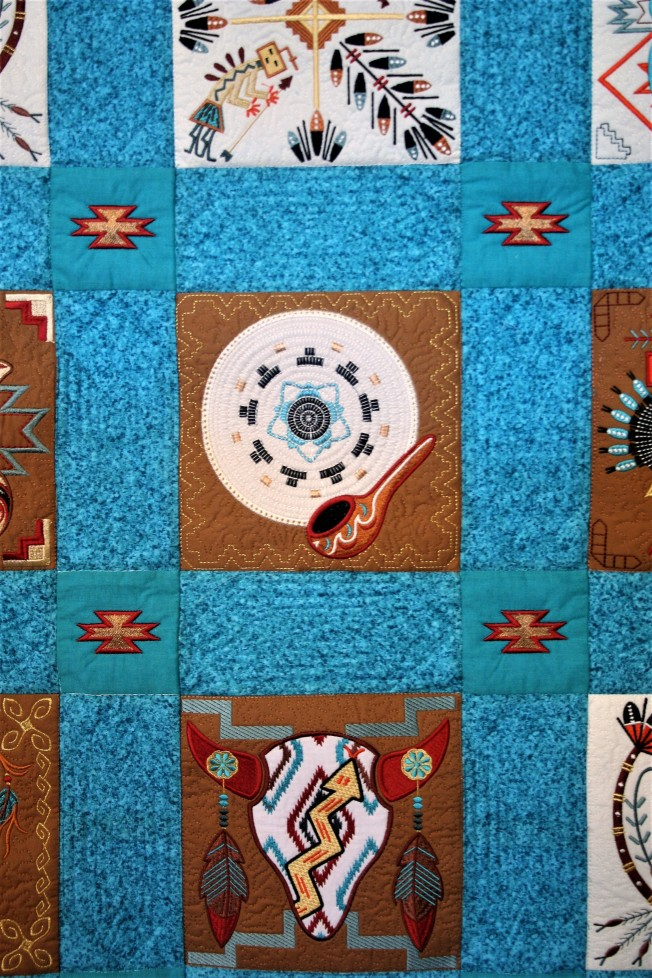 Navajo Quilt (close up 3)