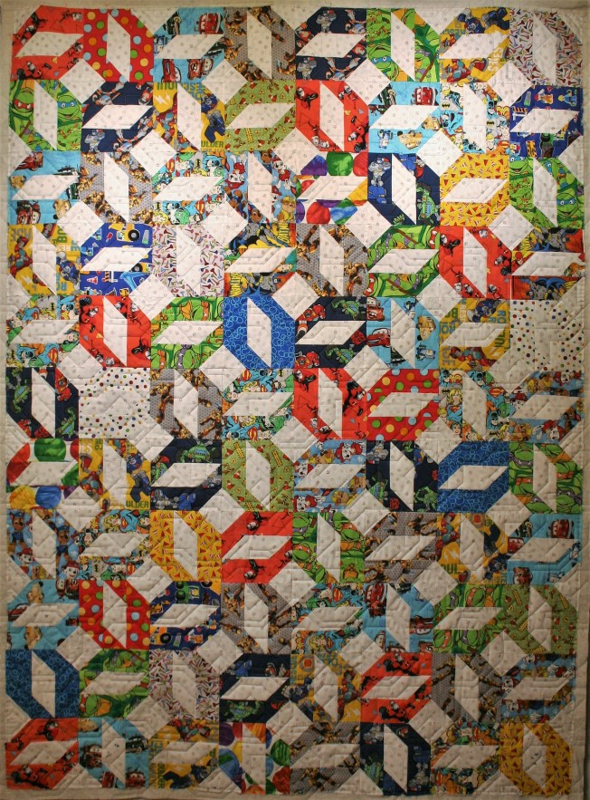 Nuts & Bolts I Spy Quilt (front)