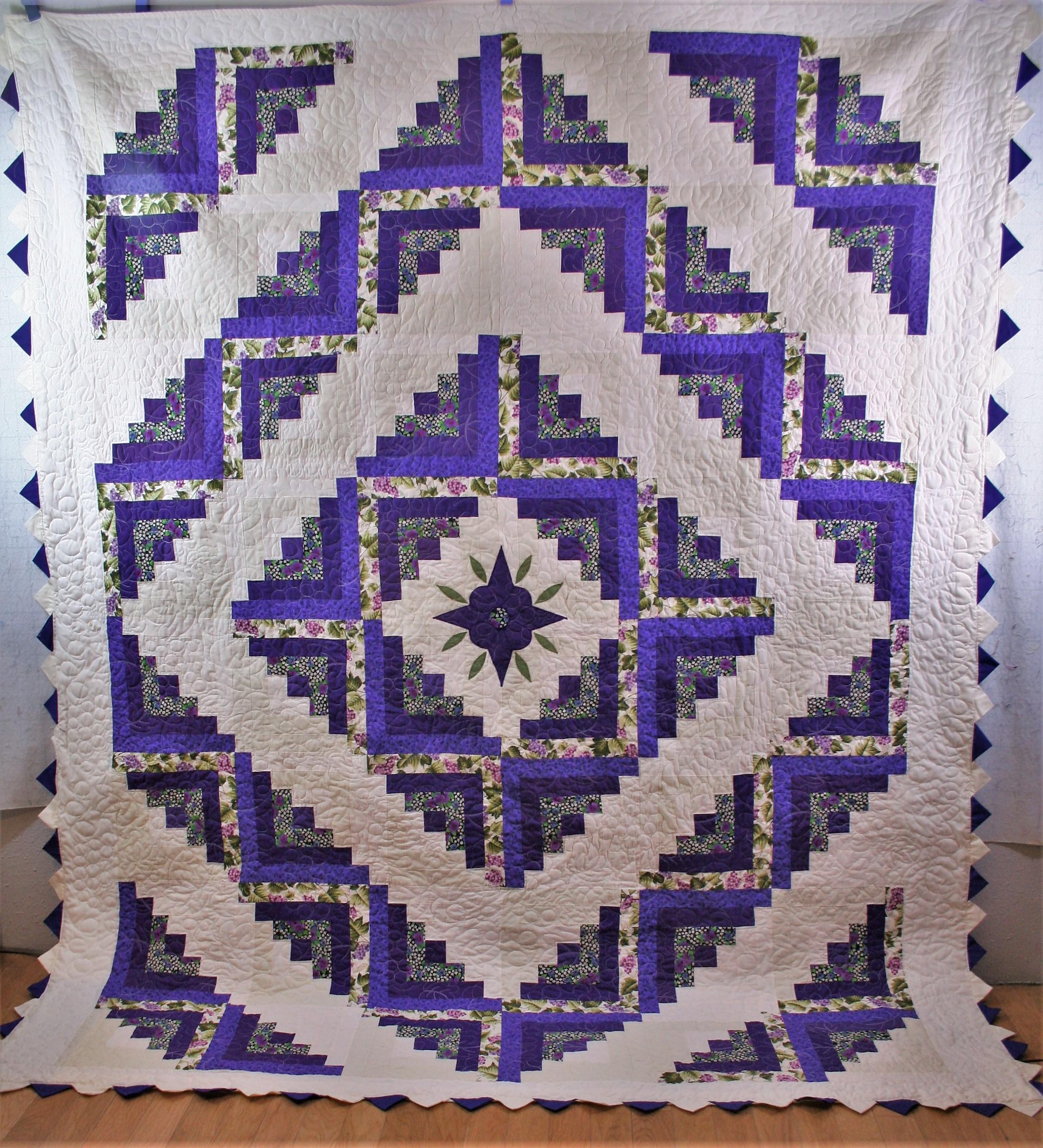 Prairie Point Quilt (front)