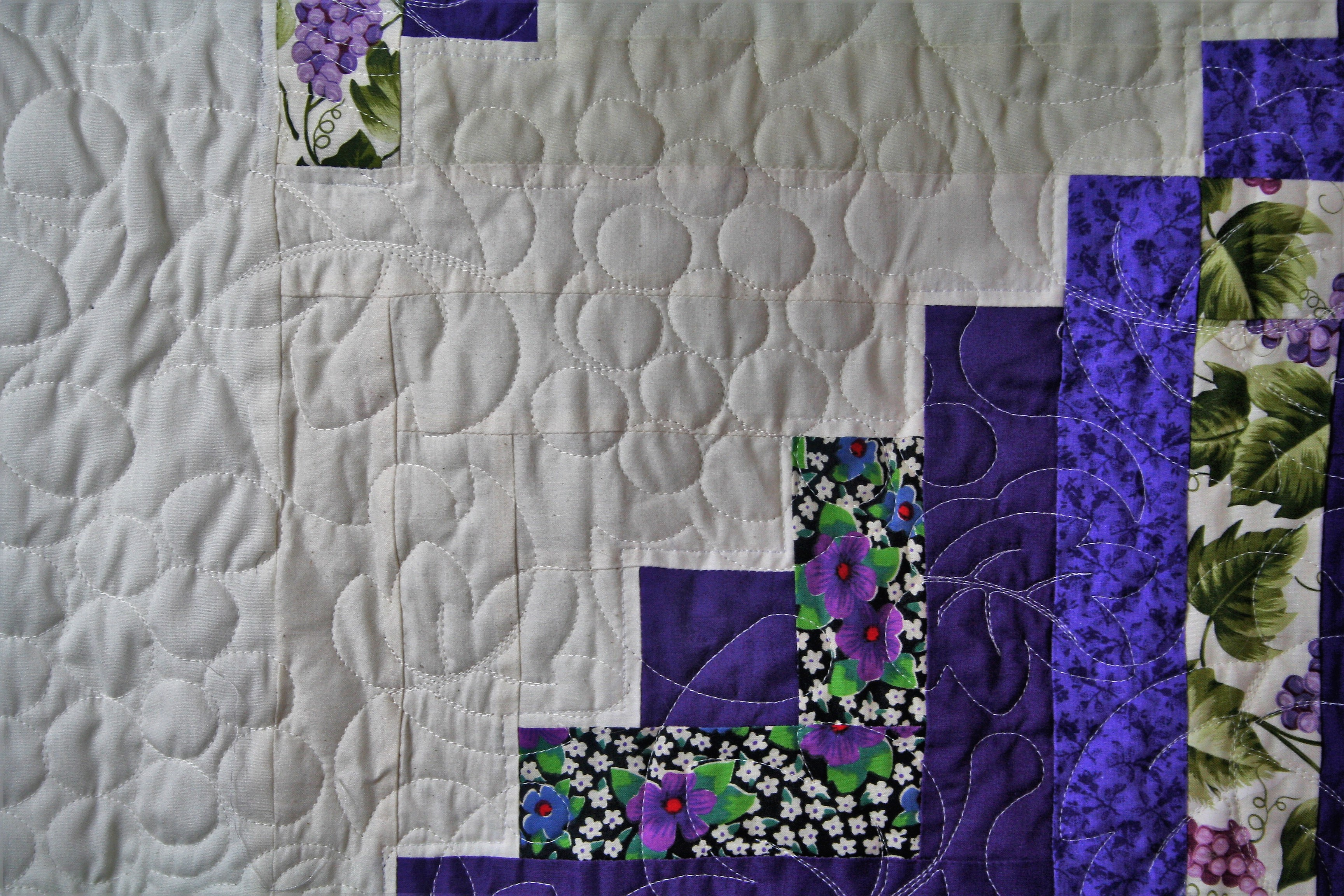 Prairie Point Quilt (close up 3)