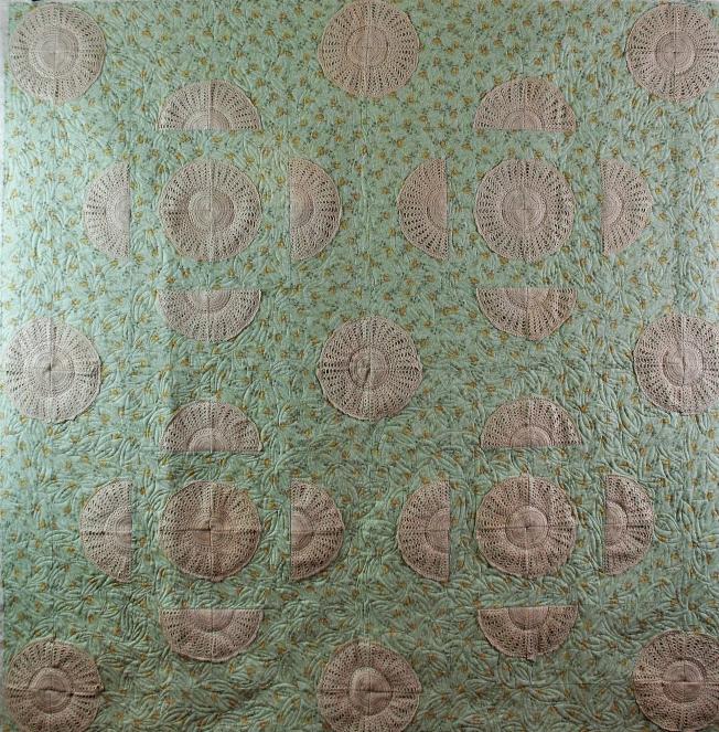 Crochet Doily Quilt (front)