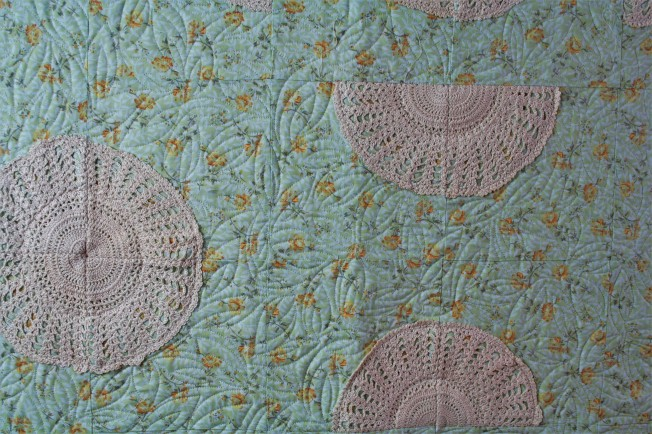 Crochet Doily Quilt (close up 2)