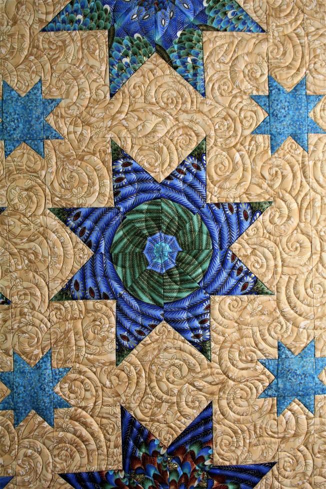 Golden Kaleidoscope (close up 1)