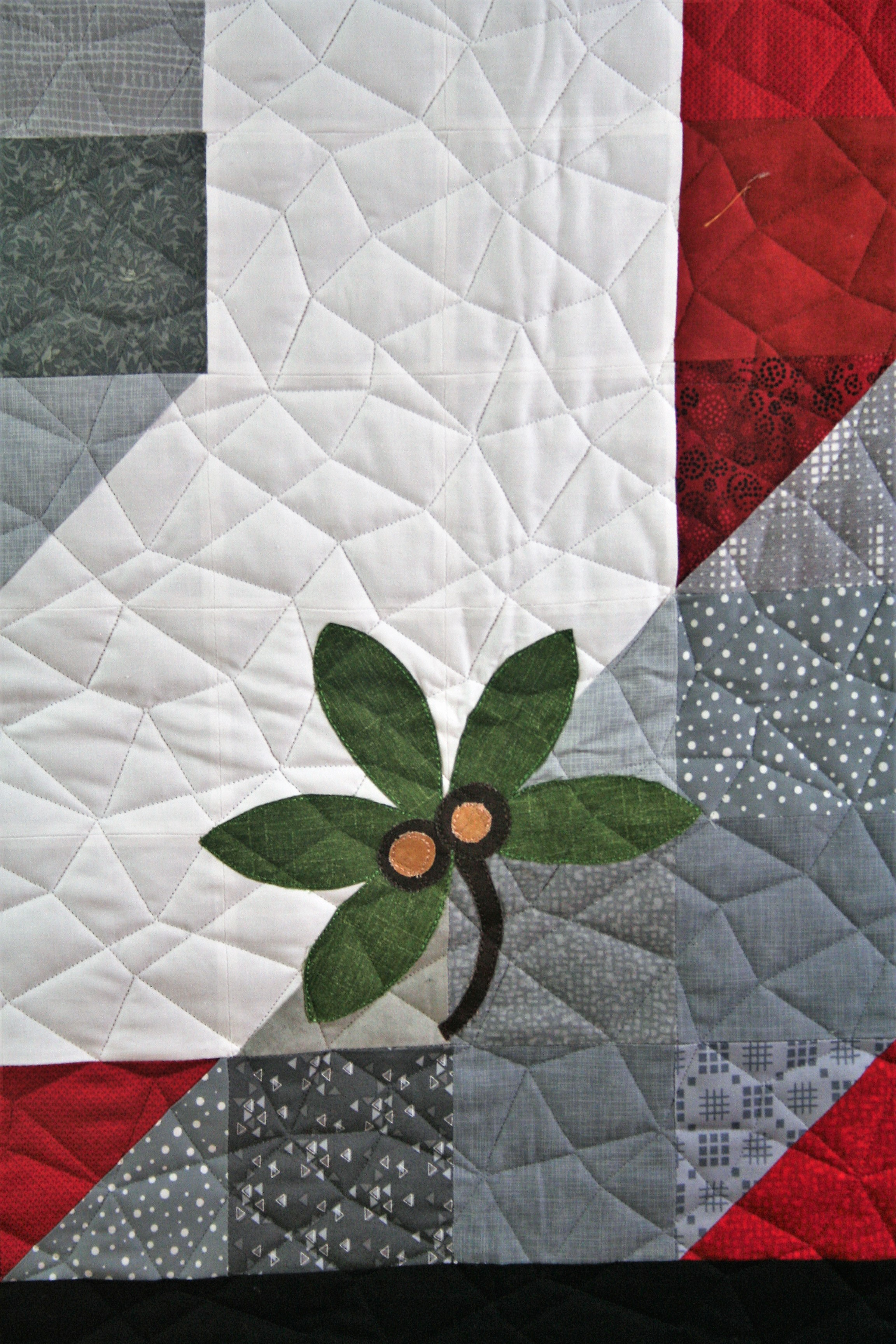 Buckeye Quilt (close up)