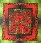 Red Poppies and Lime