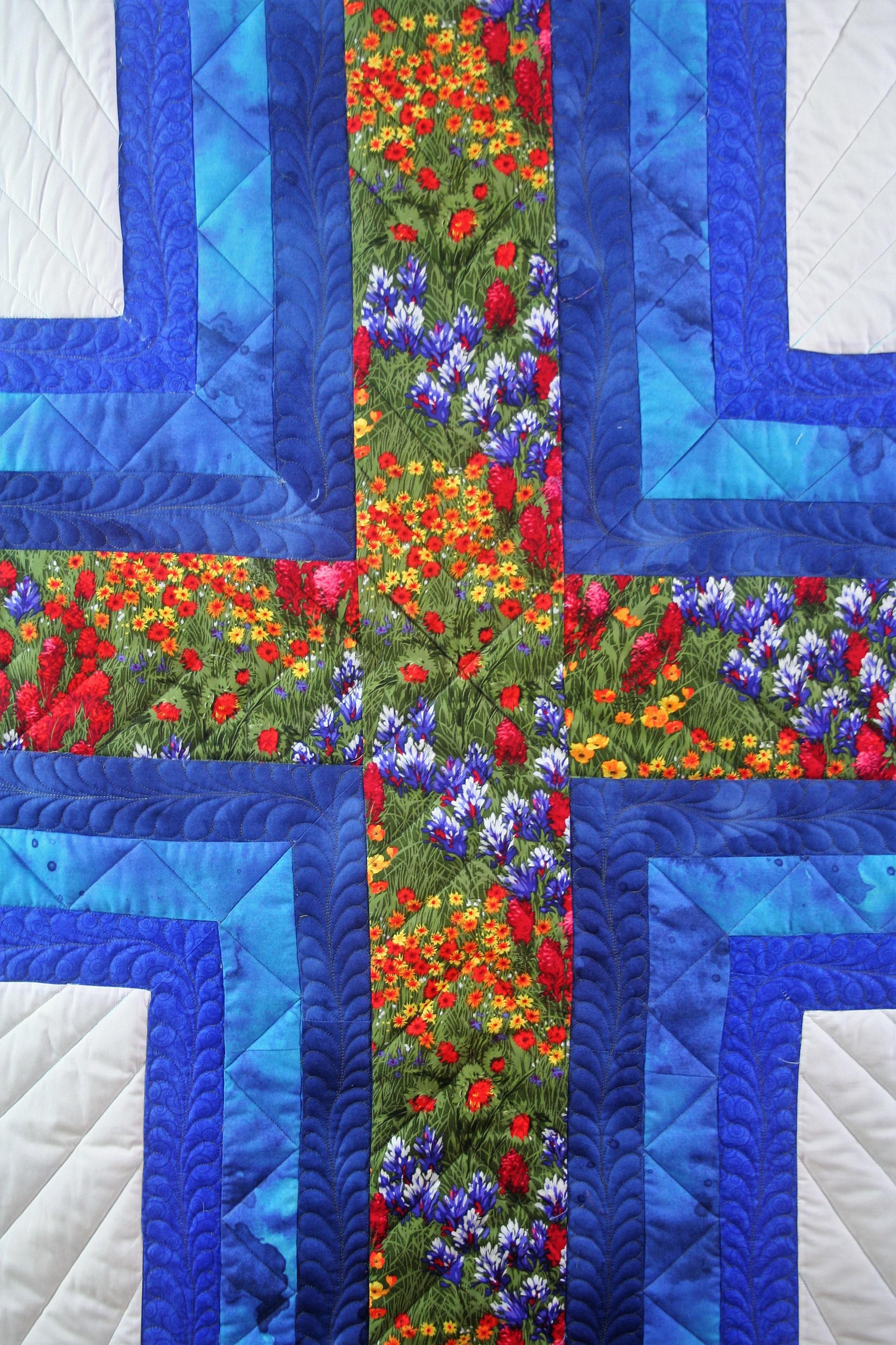 Blue Cross (close up 1)
