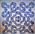 China Blue LogCabin