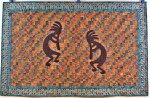 Commissioned Kokopelli Wallhanging