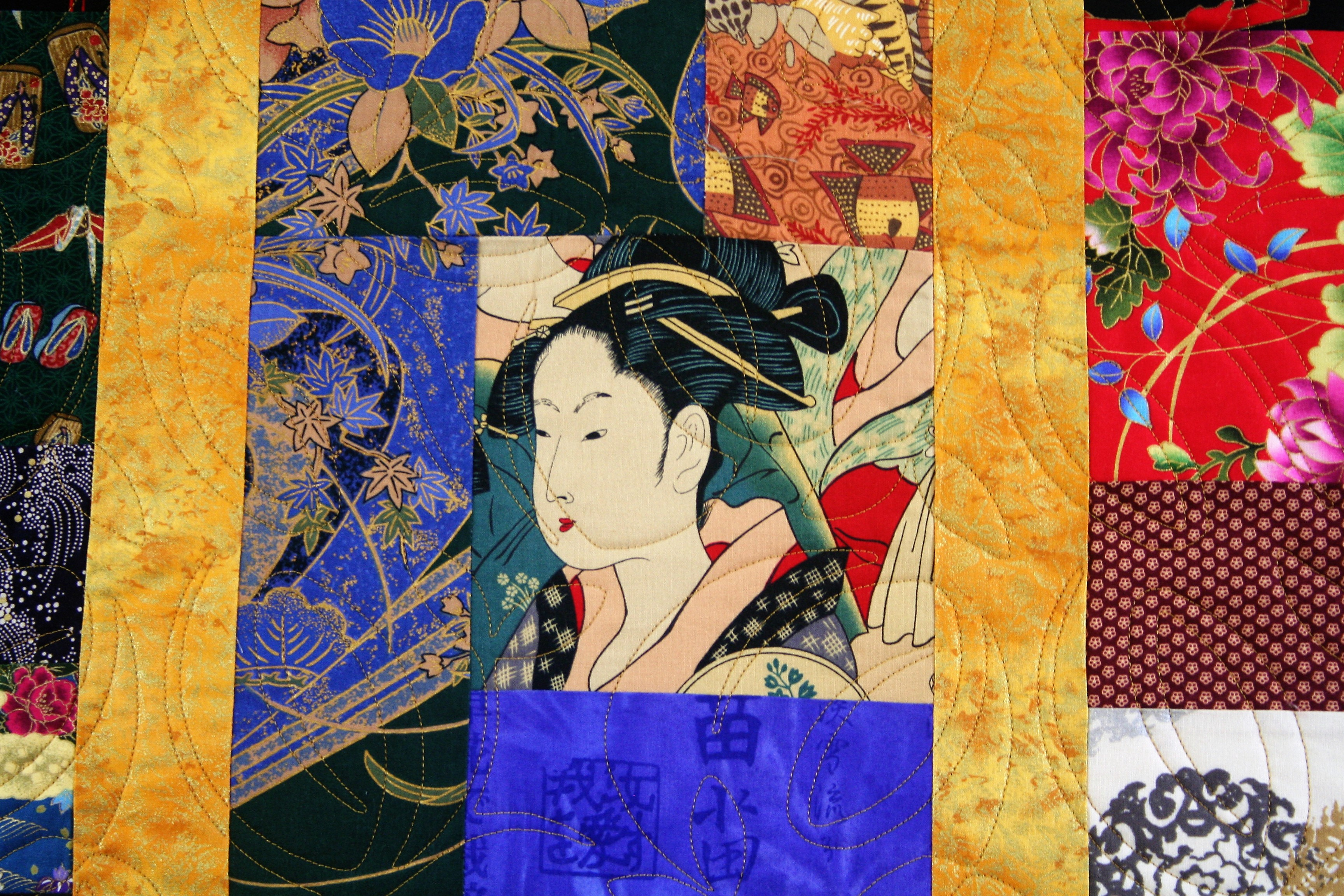 Japanese Quilt (close up 1)