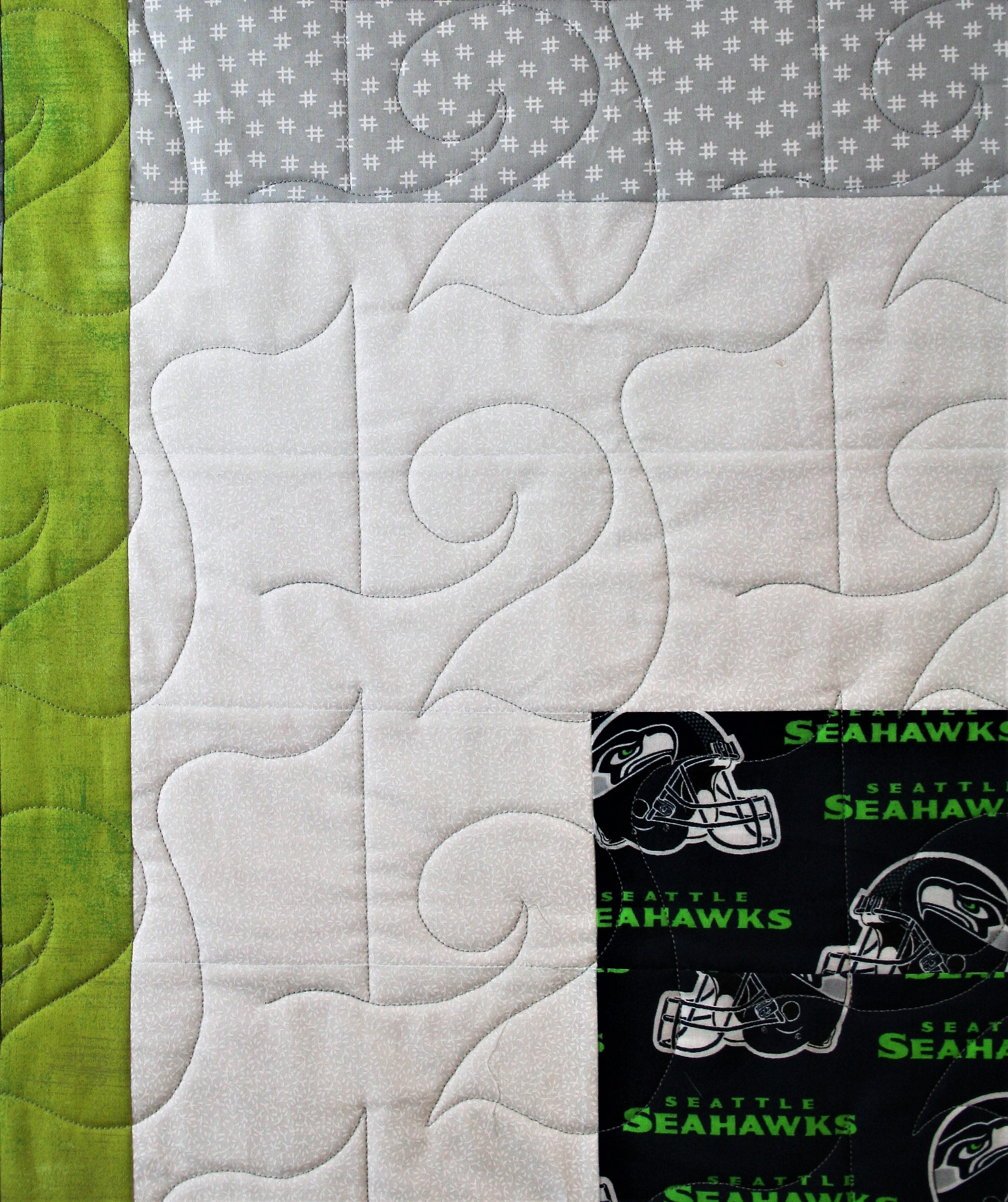 Number 12 Seahawks (close up 1)