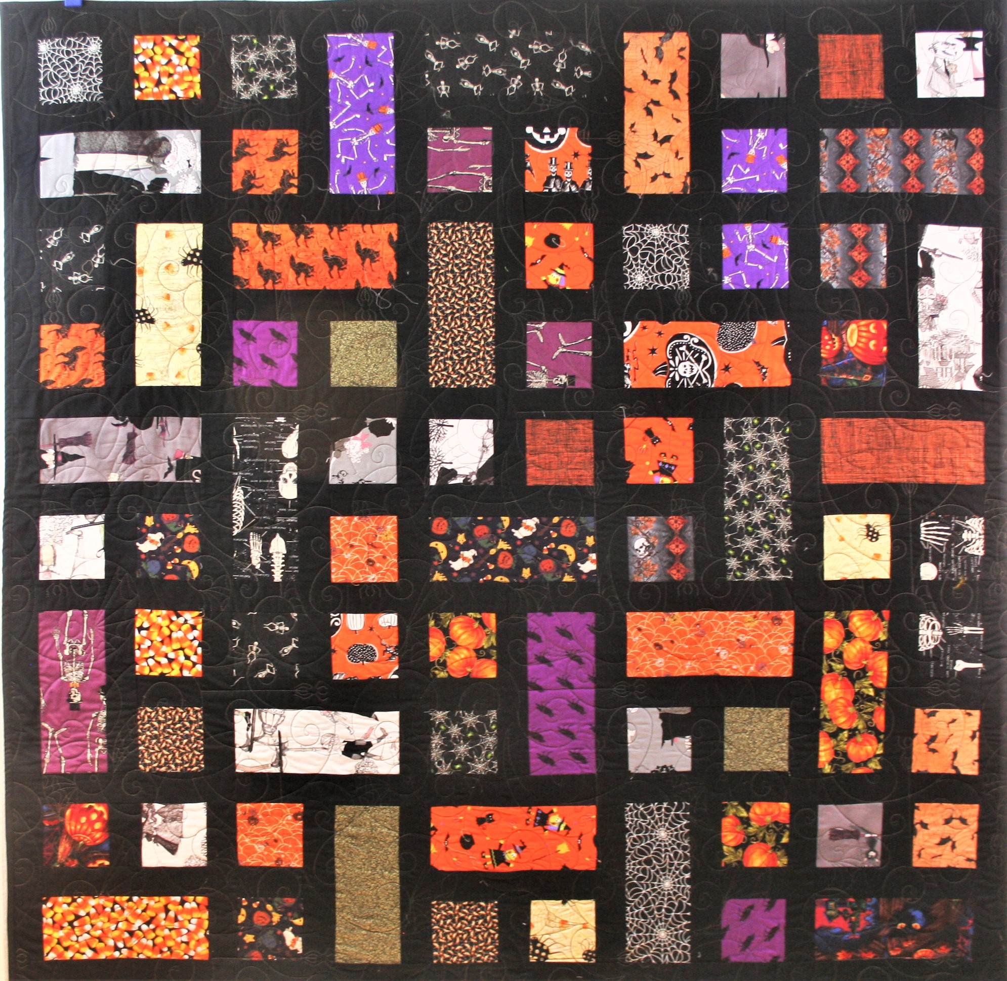 Hunter's Halloween Quilt (front)