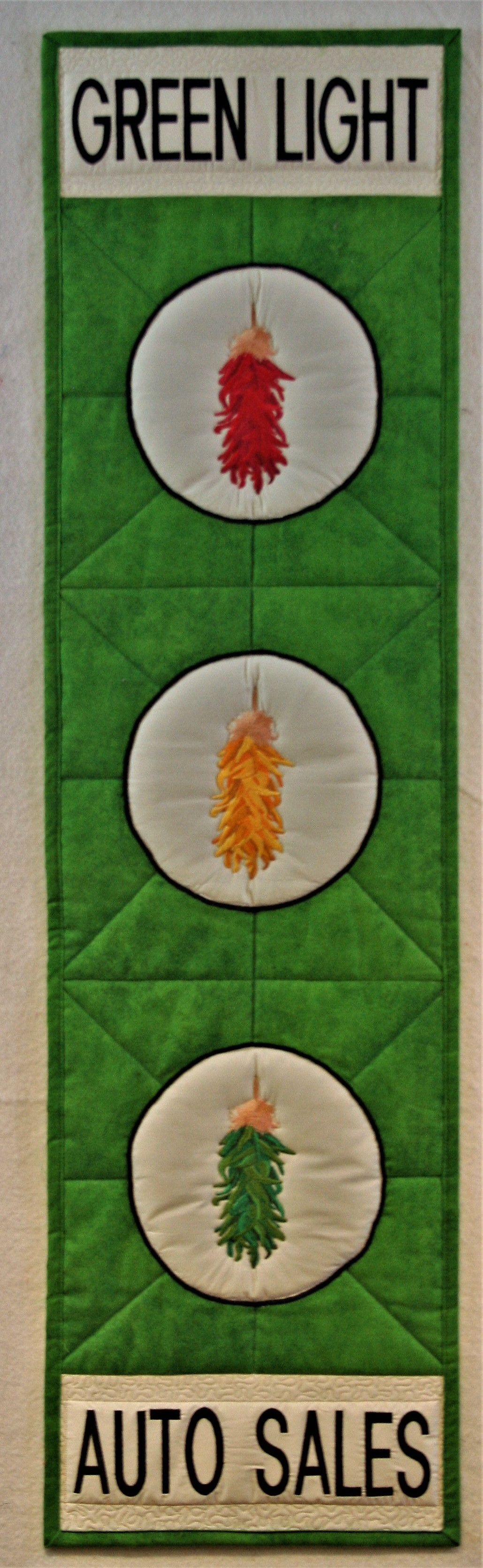 Green Light Wall Hanging