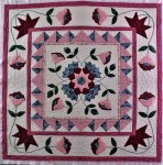 Pink Applique WallHanging