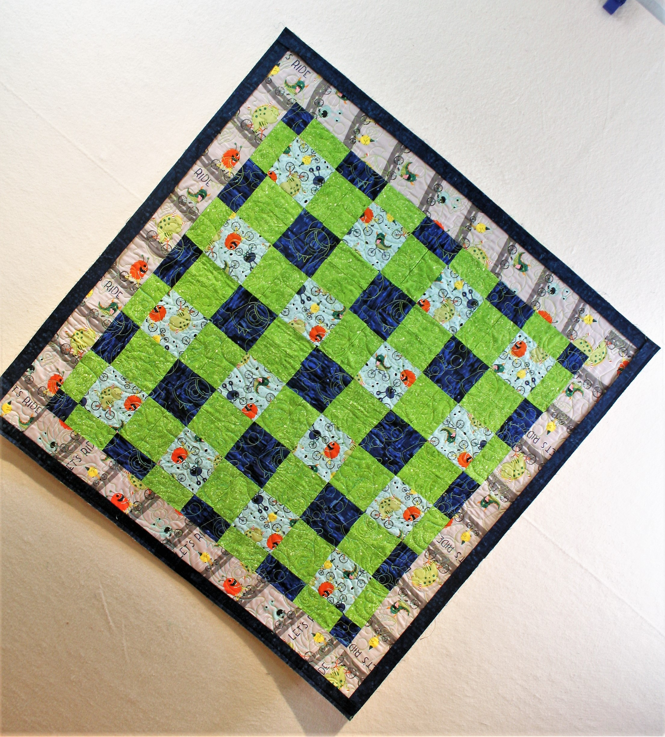 Monster Quilt (front)